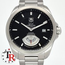 TAG Heuer Grand Carrera Staal 41mm Bruin