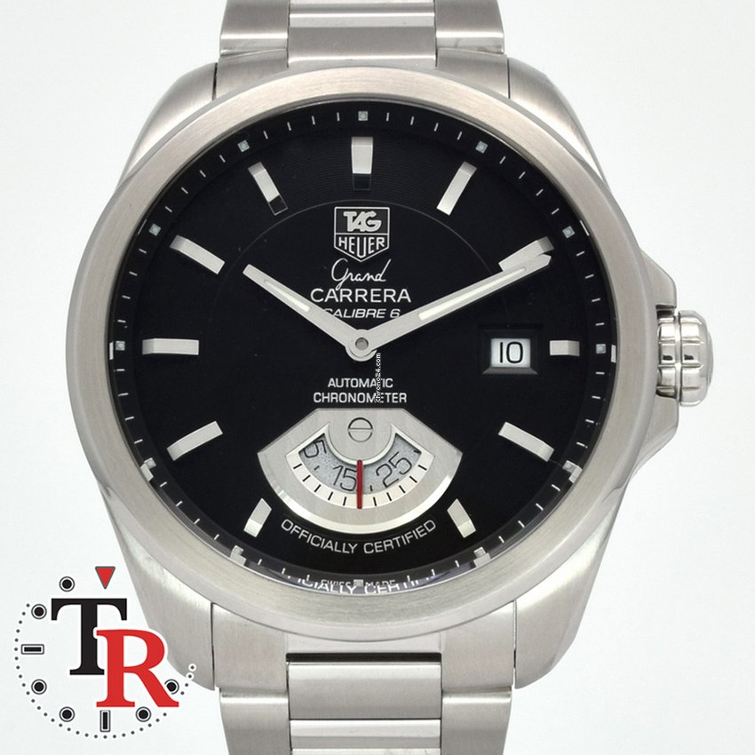 2d92b198555 TAG Heuer Grand Carrera - all prices for TAG Heuer Grand Carrera watches on  Chrono24