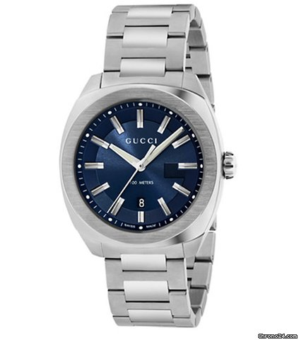 82be3876507 Gucci GG2570 L Blue Dial 41 mm for Rs. 65