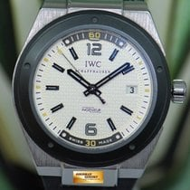 IWC Ingenieur Automatic Steel 44mm Silver No numerals