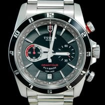 Tudor Grantour Chrono Fly-Back Steel 42mm Black No numerals