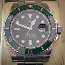 Rolex Submariner Date 116610LV 2011 pre-owned