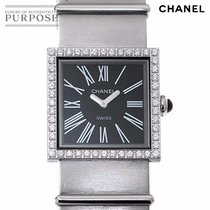 Chanel Mademoiselle Steel 22.5mm Black