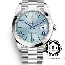 Rolex Day-Date 40 228206 Unworn Platinum 40mm Automatic