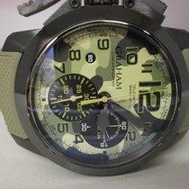 Graham Chronofighter Oversize 47mm Green United States of America, Texas, Houston