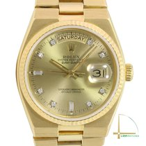 Rolex Day-Date Oysterquartz Yellow gold 36mm Champagne United States of America, California, Los Angeles