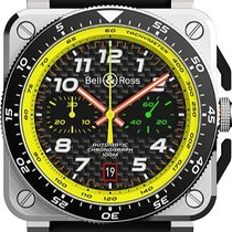 Bell & Ross BR 03-94 Chronographe Steel 42mm Black United States of America, New York, Airmont
