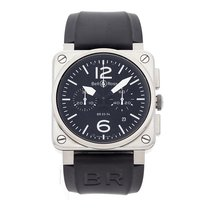 Bell & Ross BR 03-94 Chronographe Steel 42mm Black Arabic numerals United States of America, Pennsylvania, Bala Cynwyd