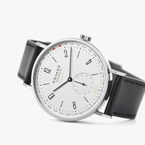 NOMOS Tangente Neomatik Steel 40.5mm White Arabic numerals United States of America, New Jersey, Princeton