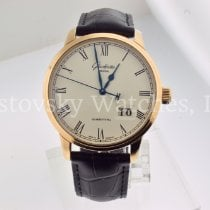 Glashütte Original Senator Panorama Date Rose gold 40mm White Roman numerals United States of America, California, Beverly Hills