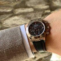 Rolex Daytona Weißgold 40mm Schwarz Arabisch Schweiz, Ascona