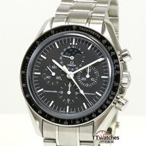Omega Speedmaster Professional Moonwatch Moonphase Acero 42mm Negro