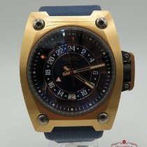 Wyler Or rose 44mm Remontage automatique code R GMT 200.2.00BB1.RBA occasion