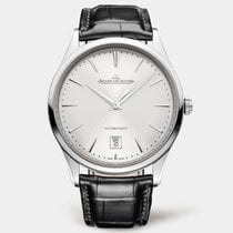 Jaeger-LeCoultre Master Ultra Thin Date Steel 39mm Silver No numerals