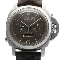 Panerai Luminor 1950 8 Days Chrono Monopulsante GMT Титан 44mm