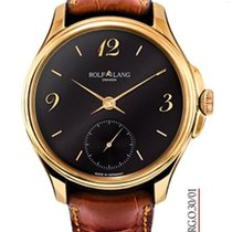 Rolf Lang Rose gold Manual winding Black 41/42mm new
