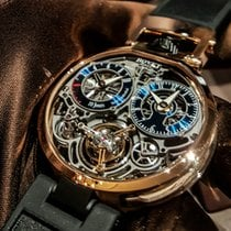 Bovet Red gold Manual winding 44mm new