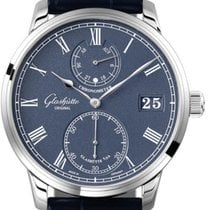 Glashütte Original Senator Chronometer White gold 42mm Blue Arabic numerals