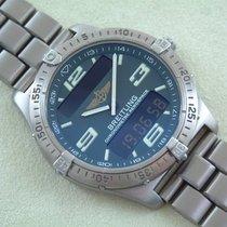 Breitling Aerospace Chronometre, wie Neu Titan mit Titanband