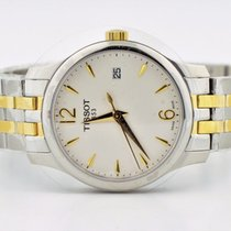 Tissot Ballade III Two Tone Swiss Quartz Stainless Steel Watch