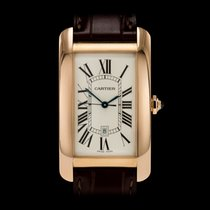 Cartier Tank Américaine Rose gold 27mm White Roman numerals United Kingdom, London
