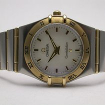 Omega 795.1202 Constellation Steel An Gold Ladies Quartz Watch...