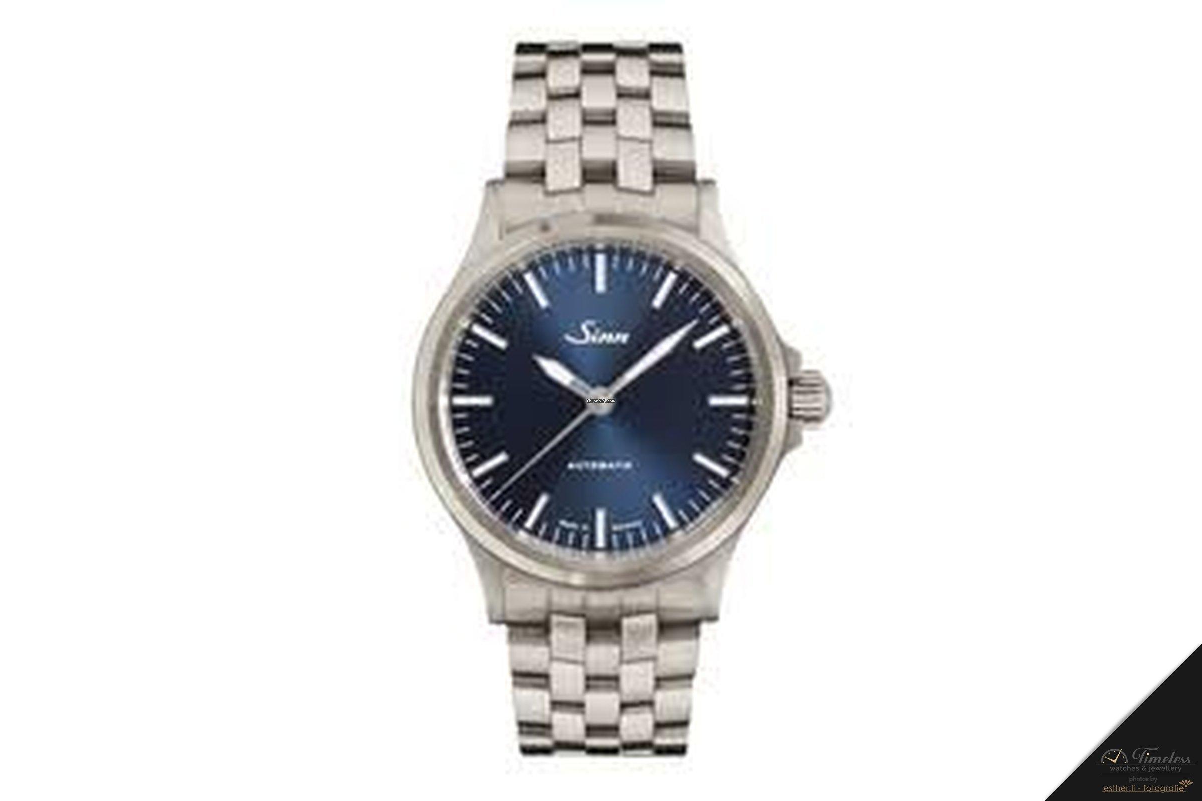 Sinn 556 I B Sporty Elegant Watch With Bracelet New