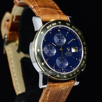Girard Perregaux GP 7000 Cronografo in acciaio e Oro Scatola ...