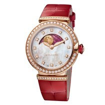 Bulgari Lucea Rose gold 36mm Mother of pearl