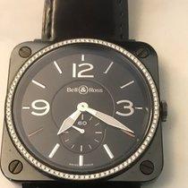 Bell & Ross BR S Ceramic Diamond Bezel Quartz
