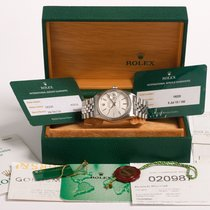 Rolex Datejust 16220 tapestry dial Box & UK papers