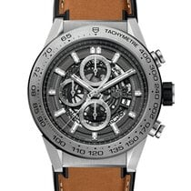 TAG Heuer Carrera Calibre HEUER 01 Titanium 45mm Transparent