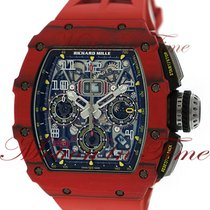"Richard Mille RM 011 RM11-03 ""Red Quartz"" TPT NTPT pre-owned"