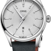 Oris Artelier Date Steel 33mm Silver