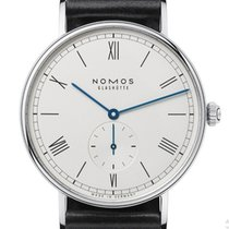 NOMOS Ludwig 38 Staal 37,5mm Zilver Romeins