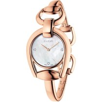 Gucci Женские часы Horsebit 28mm Кварцевые новые Часы с оригинальными документами и коробкой 2019