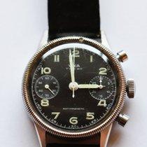 Vixa Chronograph Handaufzug 1954 gebraucht Schwarz