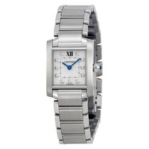 Cartier Tank Française Steel 20mm Silver No numerals United States of America, New York, New York