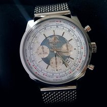 Breitling Transocean Chronograph Unitime Stahl 46mm Keine Ziffern Deutschland, Bergisch Gladbach