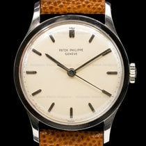 Patek Philippe Calatrava White gold 35mm Silver United States of America, Massachusetts, Boston