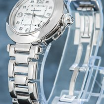 Cartier Pasha tweedehands 32mm Wit Datum Witgoud