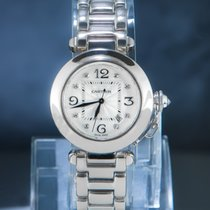 Cartier White gold 34mm Automatic 2398 pre-owned