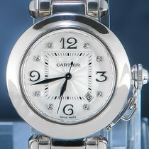 Cartier Ouro branco 34mm Automático 2398 usado