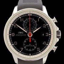 IWC Portugieser Yacht Club Chronograph Stahl 45mm Schwarz Arabisch Deutschland, Frankfurt am Main