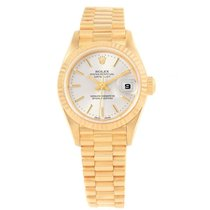 Rolex Lady-Datejust Yellow gold 26mm Silver United States of America, Georgia, Atlanta