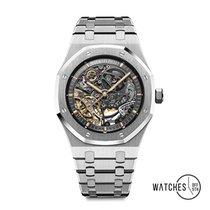 Audemars Piguet Royal Oak Double Balance Wheel Openworked 15407ST.OO.1220ST.01 2019 nouveau