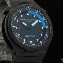 Porsche Design new Automatic Center Seconds Luminescent Hands Quick Set PVD/DLC coating 47mm Sapphire Glass