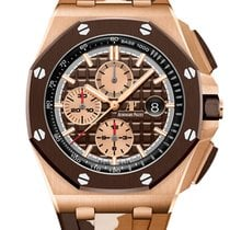 Audemars Piguet Red gold Automatic 44mm new Royal Oak Offshore Chronograph