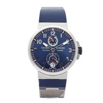 Ulysse Nardin Marine Chronometer Manufacture 1183-126 pre-owned