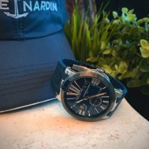 Ulysse Nardin Executive Dual Time Steel 43mm Blue Roman numerals United States of America, Colorado, Commerce City